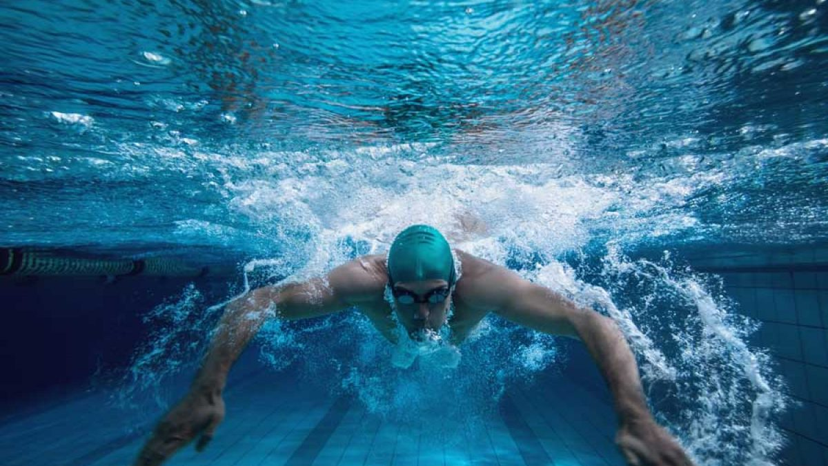 Swimming physics behind The science