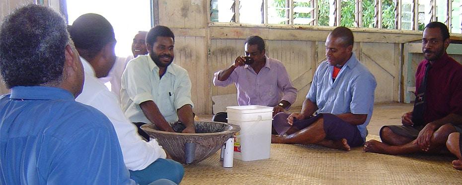 Teachers drinking kava