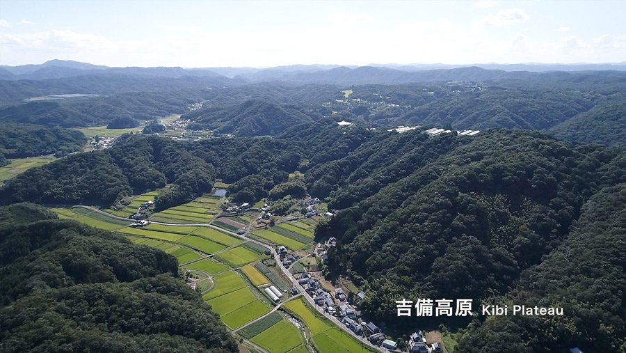 Kibi Plateau: A stable location within active Japan