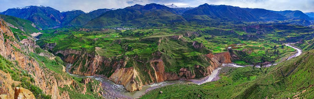 Slip sliding away Landslides, earthquakes, rainfall and the Andes