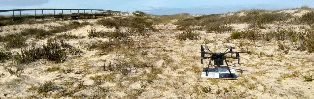 Using drones to map marine litter on Portugal's coastline