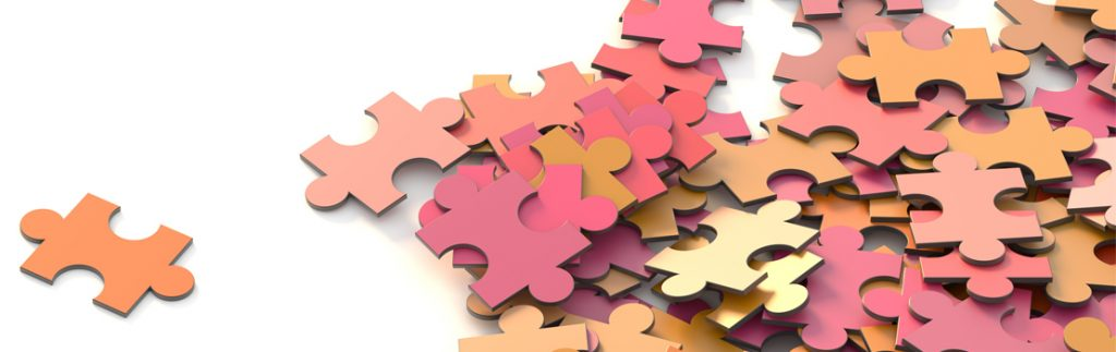 jigsaw puzzle pieces, representing the puzzling nature of knowledge