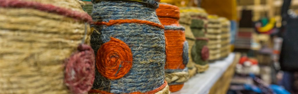 products made from jute fibre