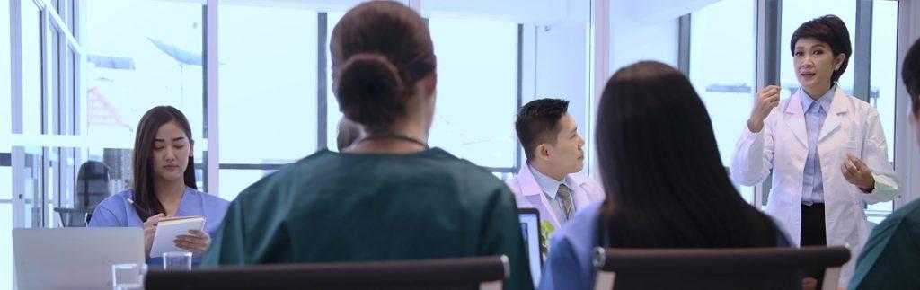 hospital meeting in Japan